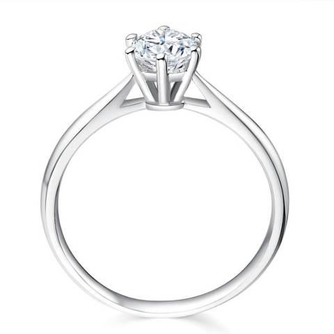 Tiaria - Forever Diamond - Perhiasan cincin emas dan berlian – White Gold 18K