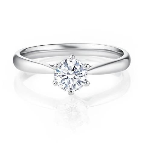Home; Tiaria - Forever Diamond - Perhiasan cincin emas dan berlian – White Gold 18K