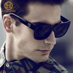 Kacamata Hitam Lensa Persegi UV400 Untuk Mengemudi