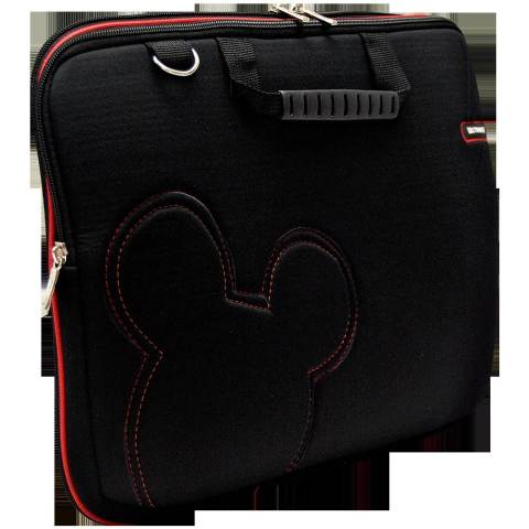 "Ultimate Tas Laptop - Notebook Double slim cute 14"" - Hitam"