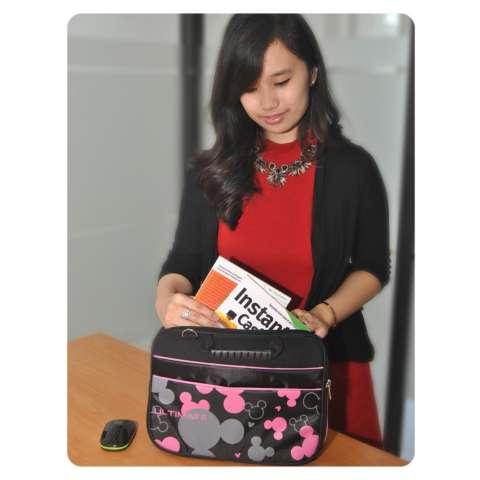 Ultimate Tas/Bag/Cover/Softcase/Backpack Laptop pria/wanita Triple Mic