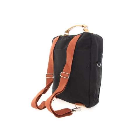 uNiQue Tas Laptop Ransel Backpack Dan Sling Bag Korean Elite Premium K7 Hitam
