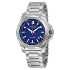 VICTORINOX SWISS ARMY 241724.1 I.N.O.X. - Jam Tangan Pria - Stainless - Silver - Blue
