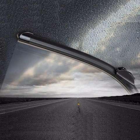 Wiper Mobil Frameless 1 Set - Mazda CX-7 - Free 2 Pcs Talang Air