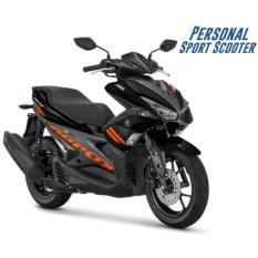 Yamaha Aerox 155 VVA Sepeda Motor - Hitam  (OTR BOGOR )