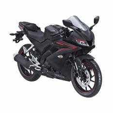 Yamaha All New R15 VVA - Matte Black (OTR JADETABEK) 2018