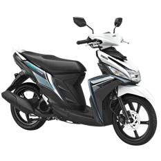 Yamaha New Mio M3 CW 125 - Awesome White (OTR JADETABEK) 2018