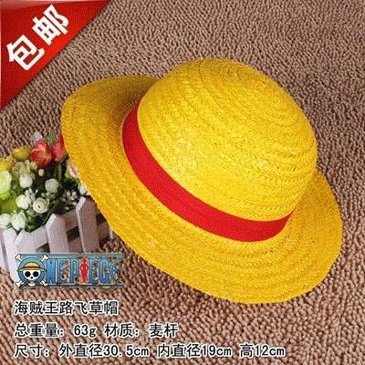 วันพีช 2 ปีใกล้ฉบับดั้งเดิม Lu Fei หมวกฟางวันพีชหมวกฟางลูฟี่หมวก cos ที่มีคุณภาพสูงอนิเมะ