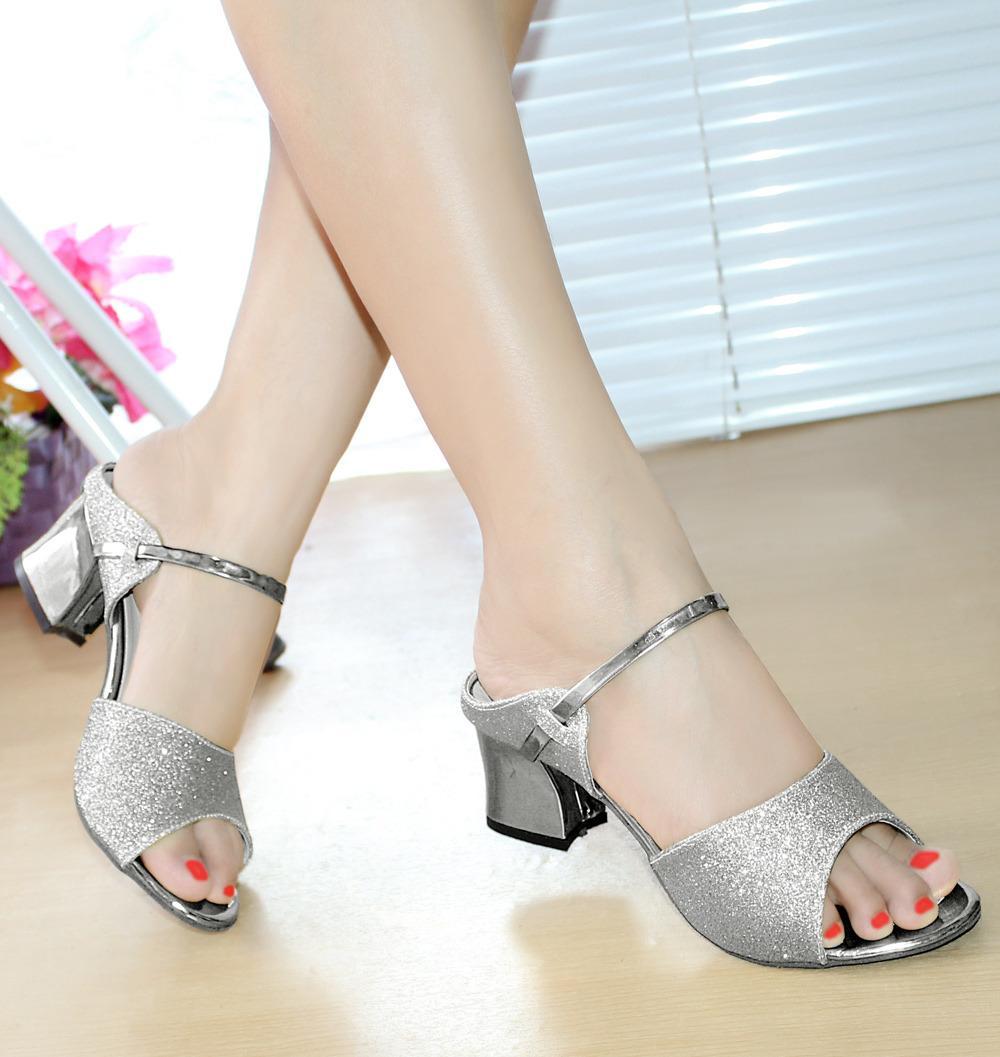Gratis Ongkir JABODETABEK - Free COD - Ellen Taslim - Chunky Heels DUBAI / High Heels