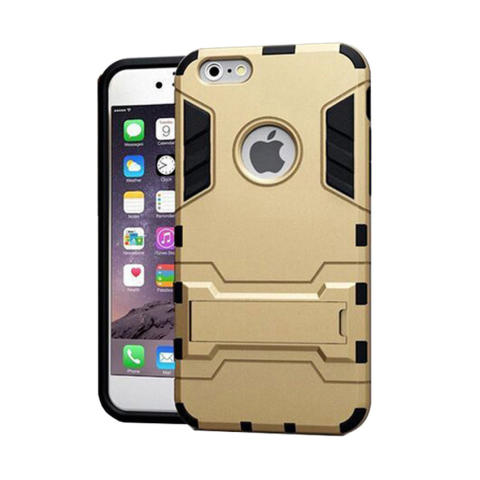 Harga Jual Case Iphone 5 5s 5se Robot Rudge With Stand Series Gold Harga Rp 45.305