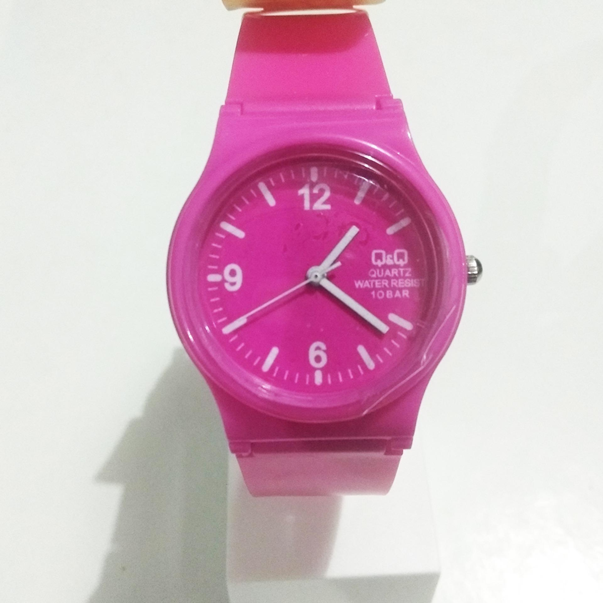 ... Q&Q Jam Tangan Fashion QQ QnQ Anak Anak Pria & Wanita New Edition Rubber Strap Model