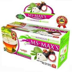 Darusyifa Teh Celup Herbal Manggis + Sirsak MS - MAX'S - 20 sashet