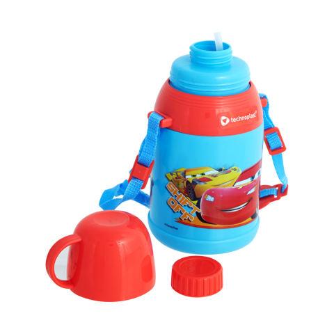 Disney Pixar Cars Power Bottle 650 Ml Merah-Biru