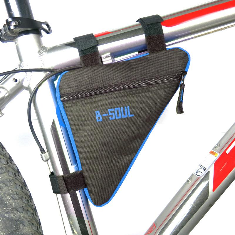 B-SOUL 4 Color Outdoor Triangle-Shape Waterproof Cycling Bag Bicycle Saddle Bike Bags Road Rear Bicycle Accessories Bike Storage Pouch