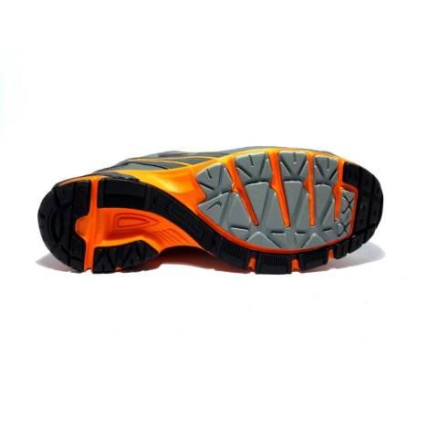 Eagle Ecolight Sepatu Lari - Dark Grey Orange