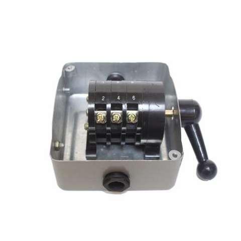 EELIC SA5 - 15A 500V Besi Metal Handle Plastik Saklar Kontak Kuningan Haanya Untuk Listrik PLN