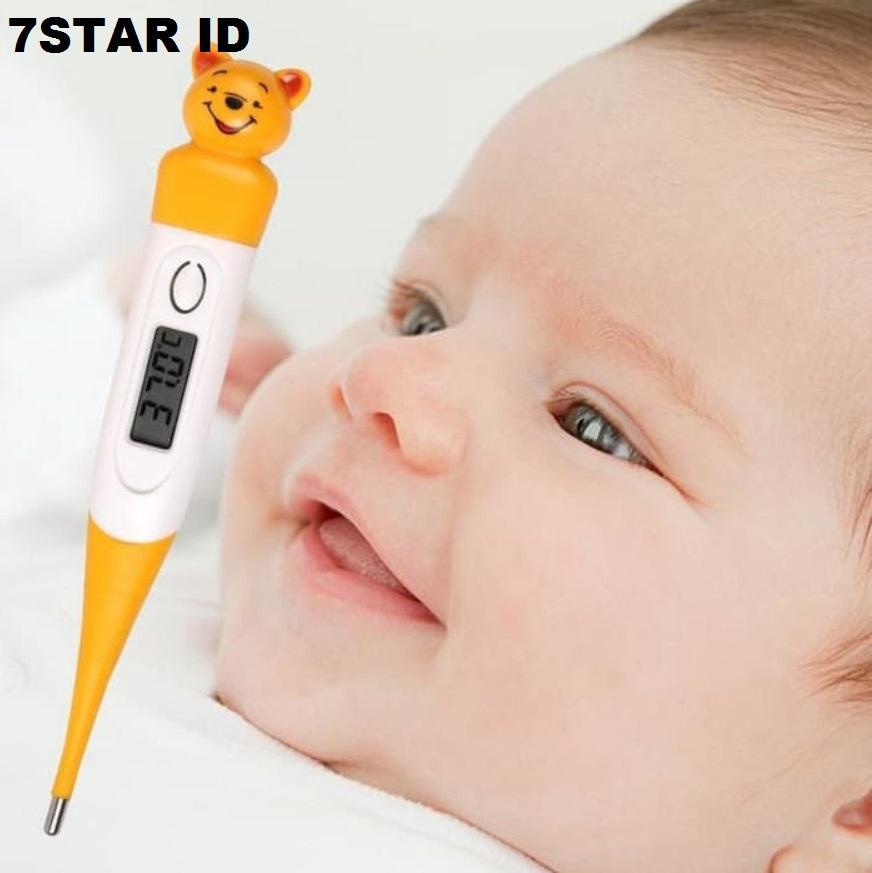 Termometer Karakter Elastis Digital 7STAR - Thermometer Digital Karakter Animal Random Color 1 Pcs