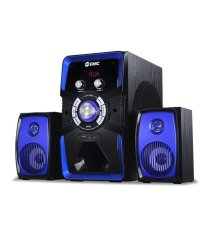 GMC 885U Speaker Aktif - Bluetooth Connection - Biru