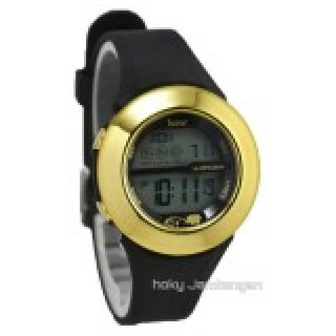 iGear - i70 - Jam Tangan Wanita - Karet - Hitam List Gold