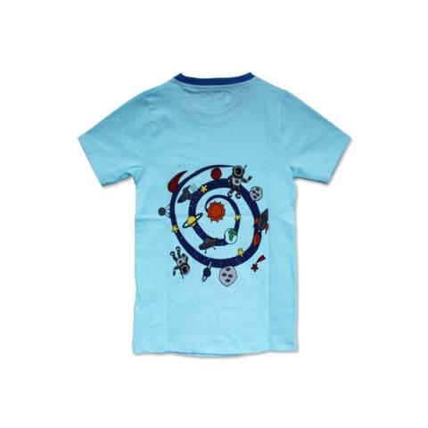 Lei & Kei My Space Blue Shirt