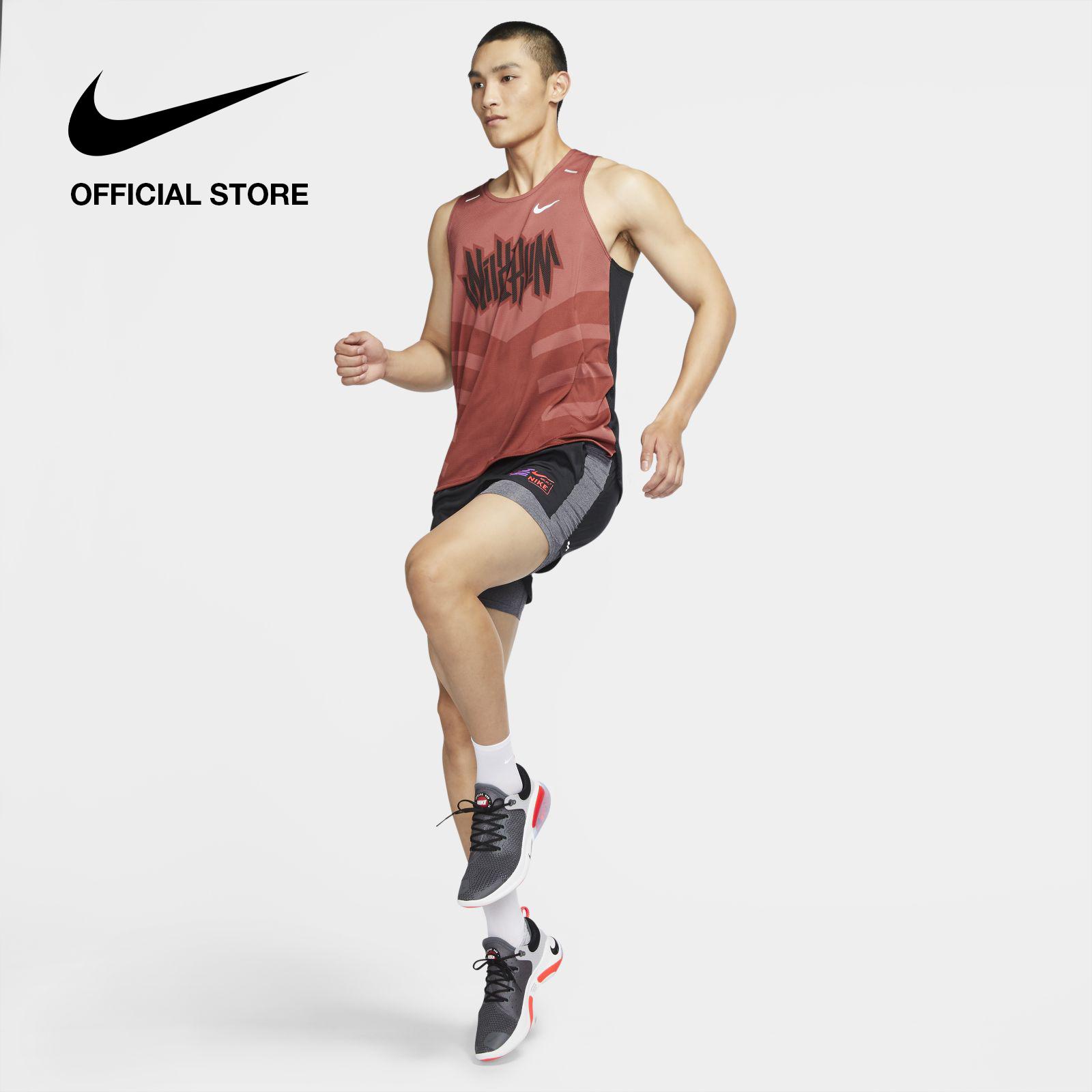 รีวิว Nike Men's Flex Stride Future Fast 2-In-1 Running Shorts - Black ไนกี้ กางเกงวิ่งขาสั้นผู้ชาย ฟิวเจอร์ ฟาสต์ 2 อิน 1 - สีดำ