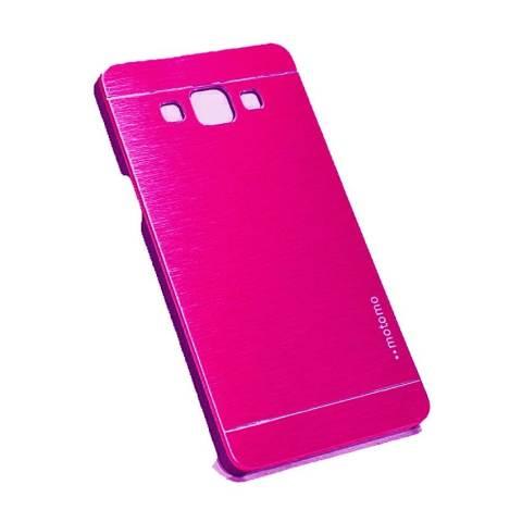 Jual Motomo Samsung Galaxy A3 A300 Hardcase Backcase Metal Case Pink Harga Rp 23.900