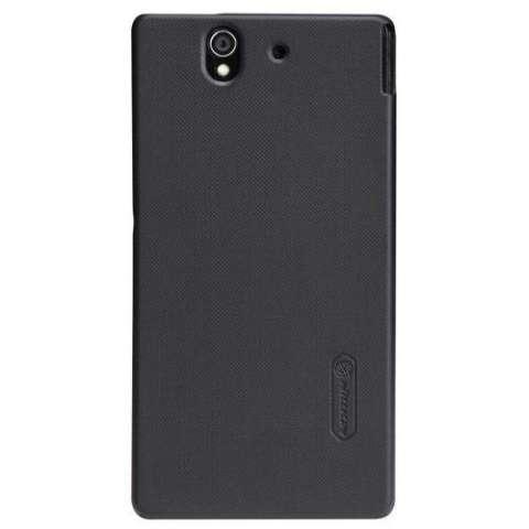 Nillkin Frosted Shield Sony Xperia Z (L36i/L36h) - Black + Free Nillkin