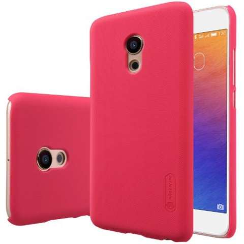 Nillkin Super Frosted Shield for Meizu PRO 6 - Merah + free screen protector