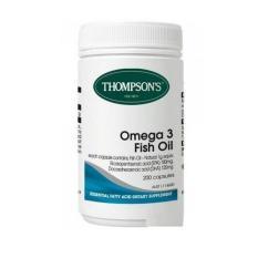 Thompson Premium Fish Oil 1000mg - Omega 3 - 200 Kapsul