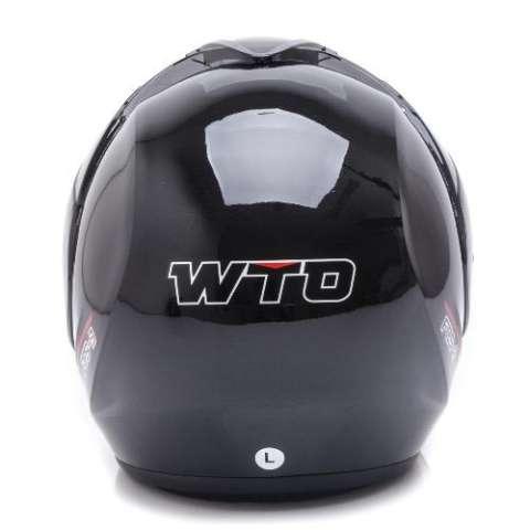 WTO Helmet Focus - Hitam - Ukuran M