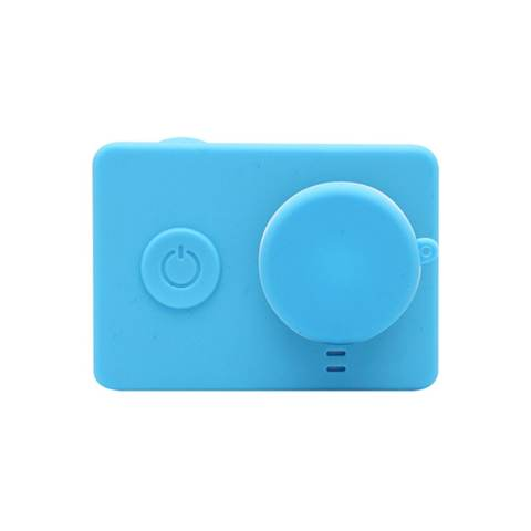 Xiaomi Yi Silicone Case and Lens Cap - Biru