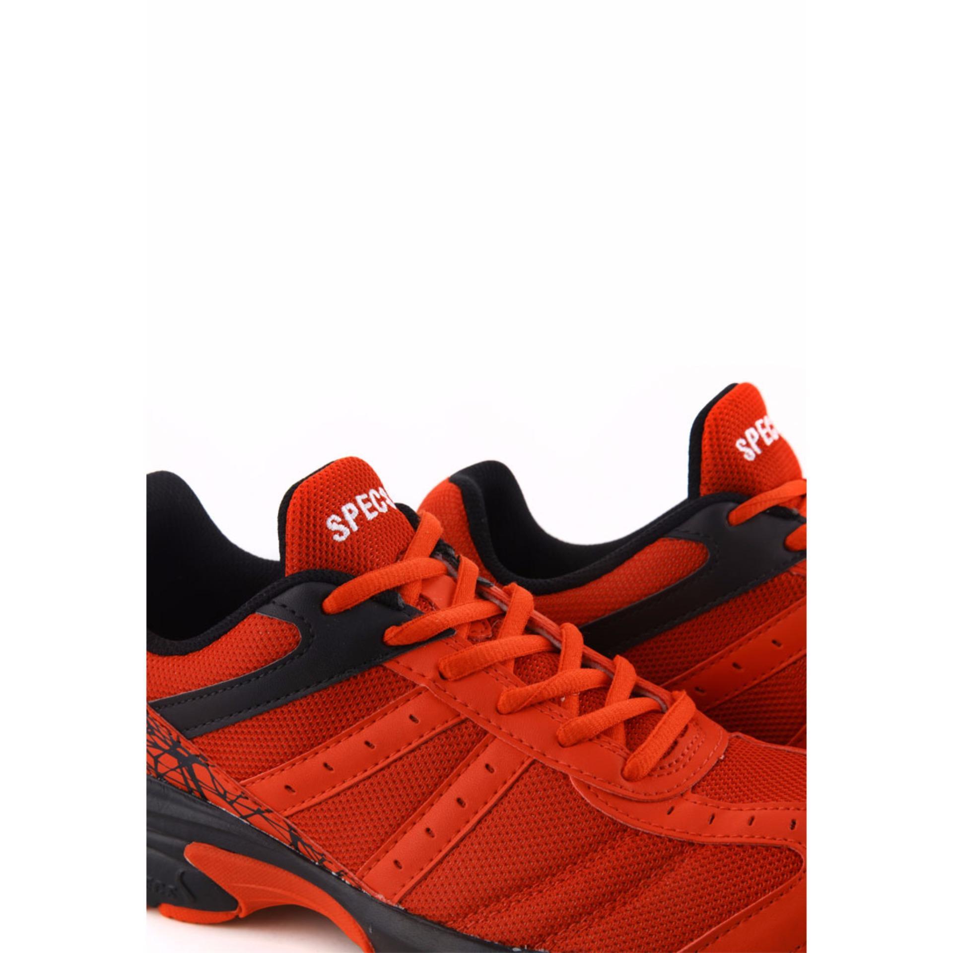 Specs 200410 Sepatu Running VINSON MASSIF - Merah Hitam   Lazada Indonesia