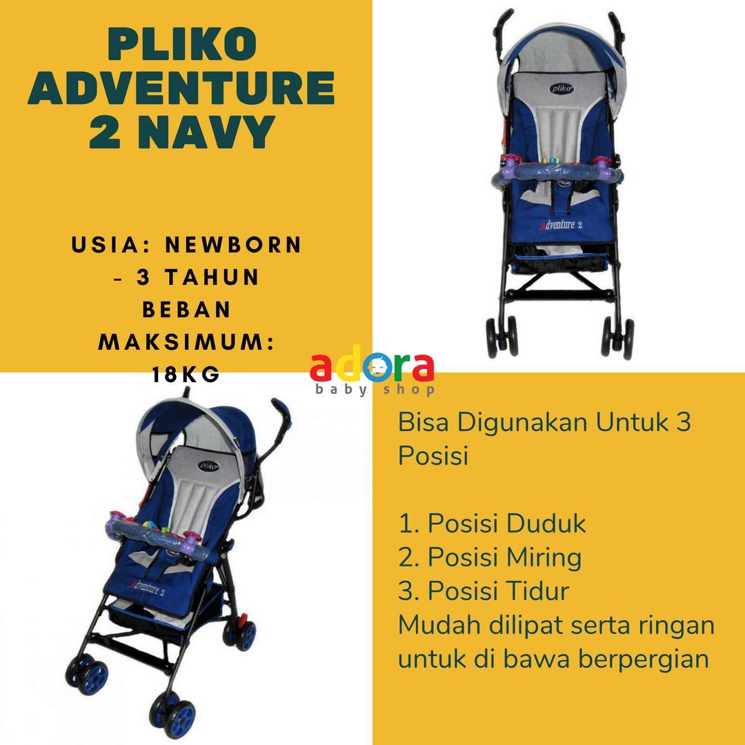 Perlengkapan Bayi Pliko Daftar Harga Ayunan Merk Joe Yi Stroller Adventure 108 Biru Dongker