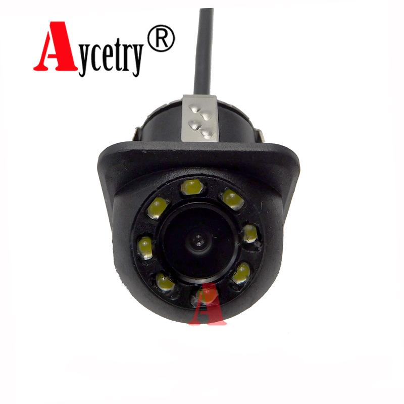 Aycetry!! Universal 8 Lights CCD HD color Waterproof car Rear View Camera Wide Angle buckup Night Vision Parking Camera