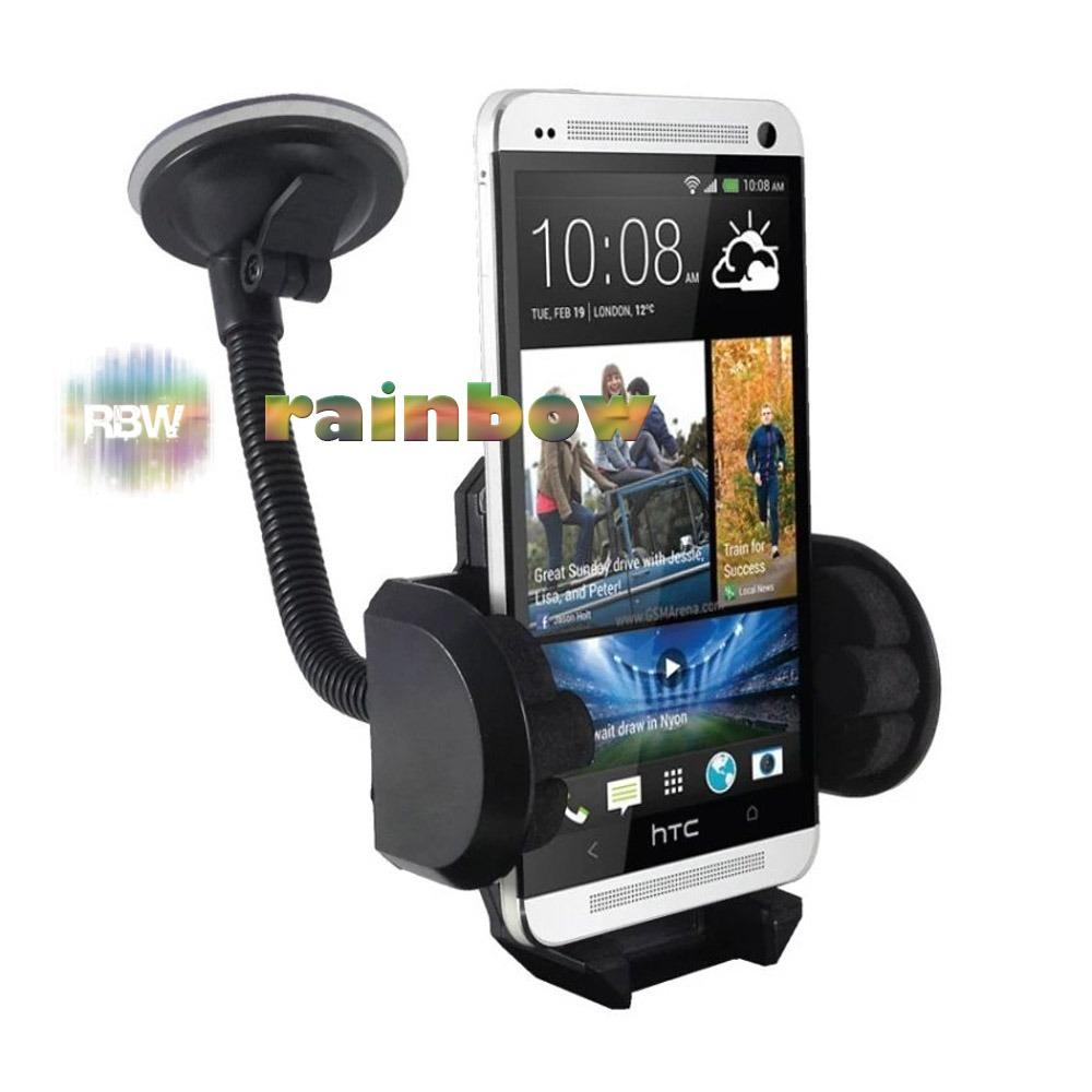 Rainbow Universal Holder Dashboard Mobil Long 360 Derajat Rotasi / Holder Kaca Mobil / Car Phone