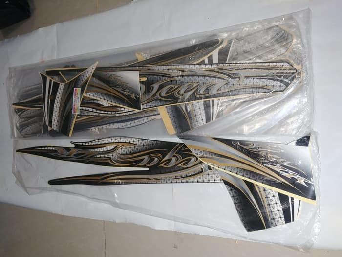 STOK TERBATAS Stiker Bodi & Lis Body & Striping Vega Zr