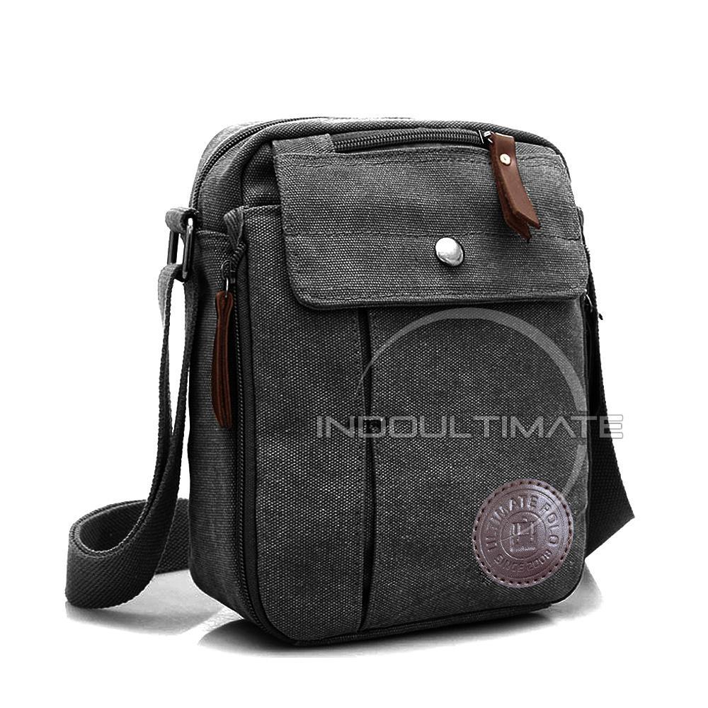 Ultimate Tas Pria AB-58-01 - Black   Tas Kerja Selempang   Slempang Import  Korea Kecil Batam Traveling Murah  b29b3279d4