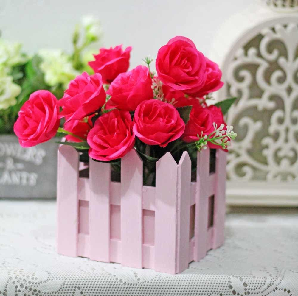 ... kain sutra mawar bunga Ivy tanaman merambat gantung Garland pernikahan dekorasi Source bunga plastik hias artificial