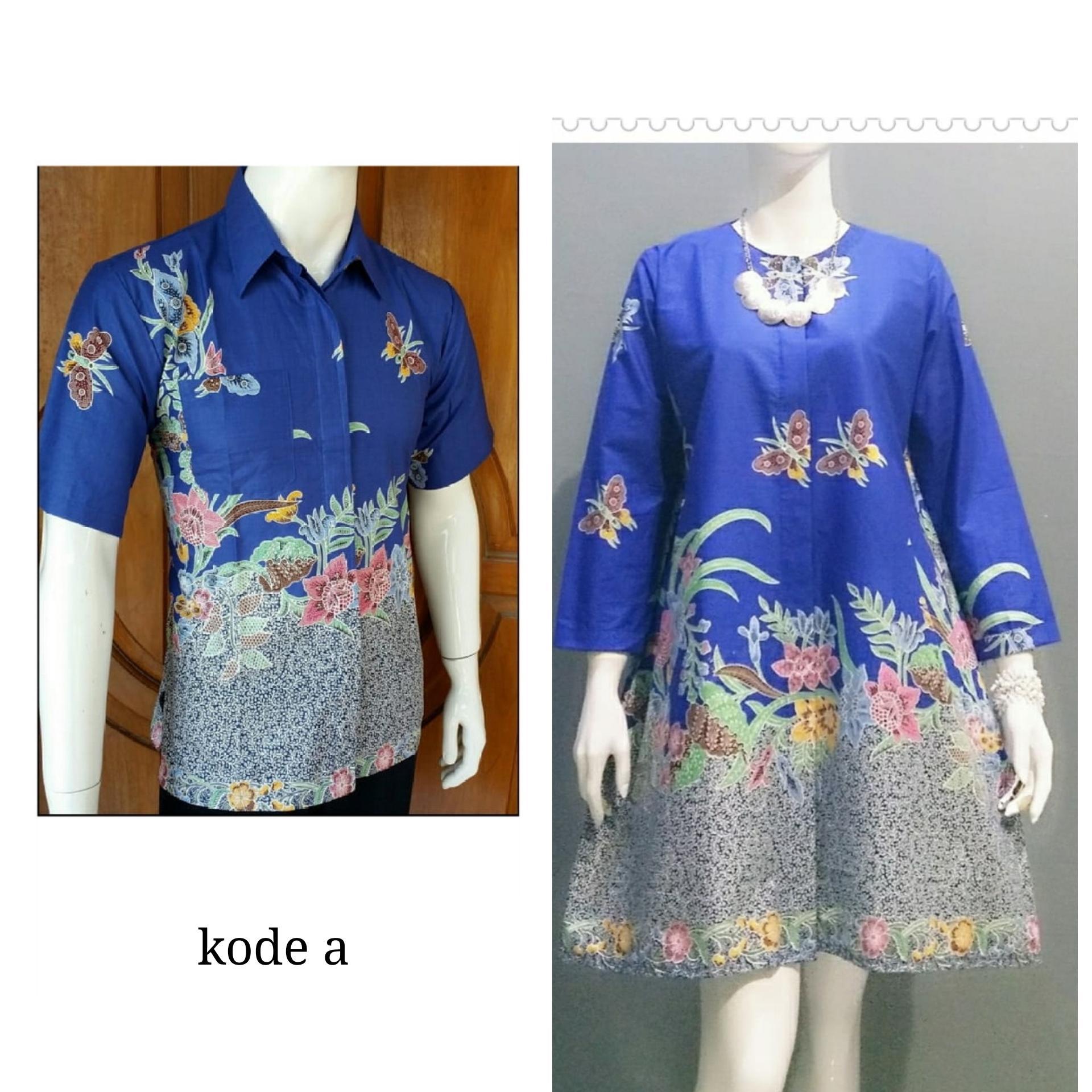 Lokal Batik Couple Gamis Sarimbit Bc376 - Info Daftar Harga Terbaru . b391372317