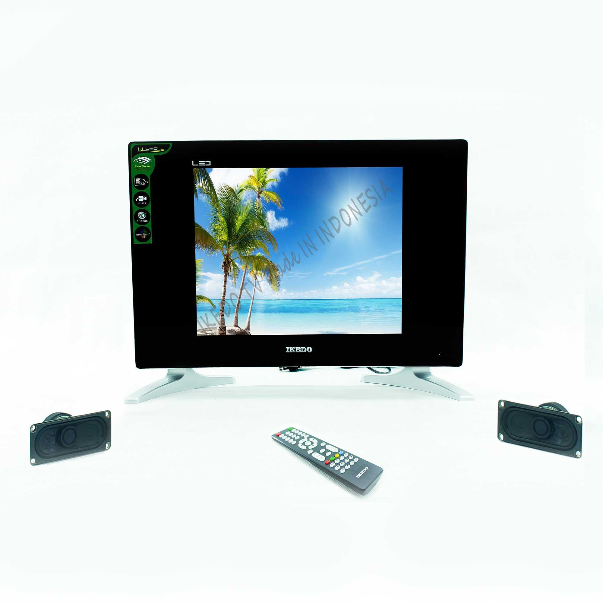 TV LED OLED DLED QLED IKEDO LT-17Q1 CURVE USB FULL HD DISPLAY MURAH TERBARU