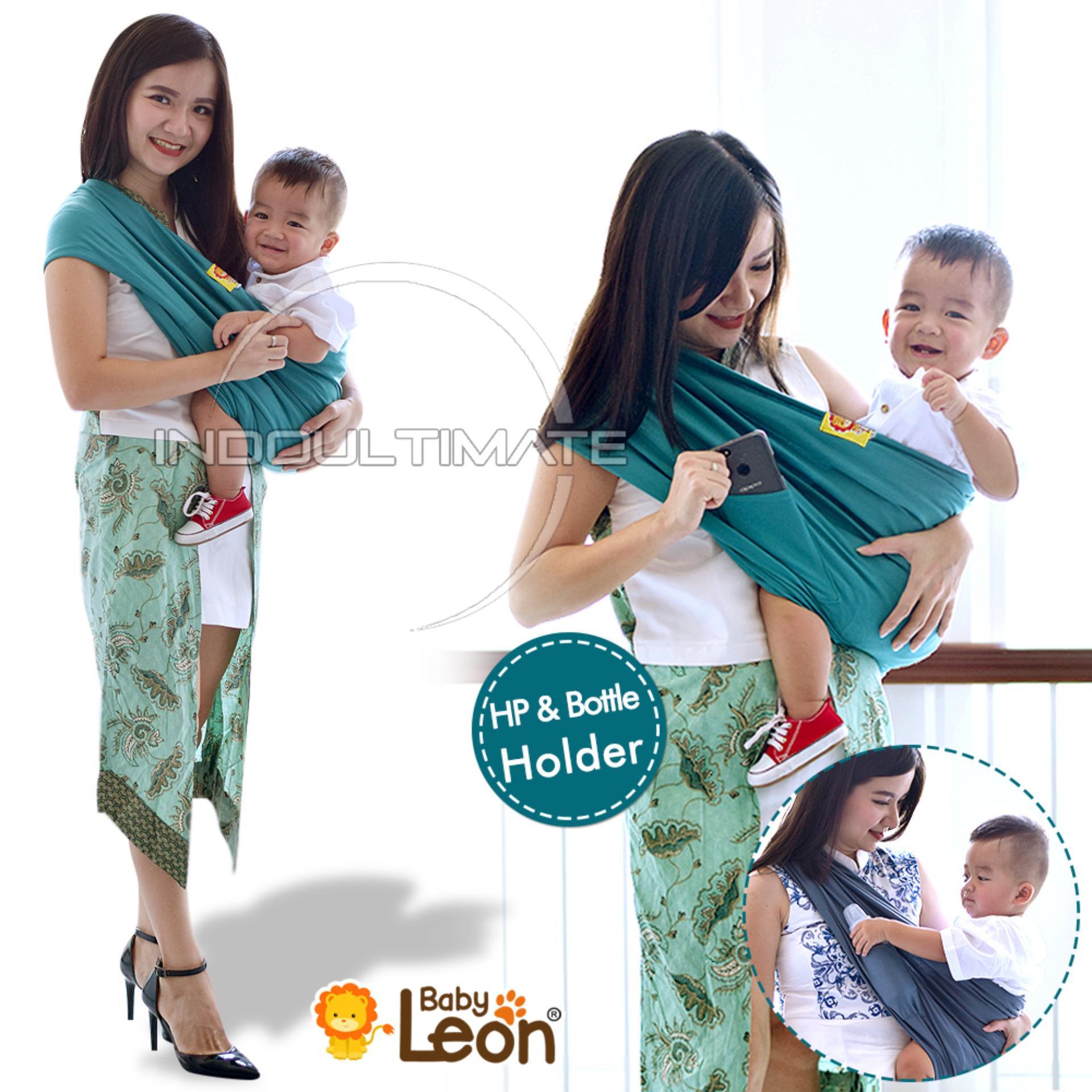 BABY LEON GENDONGAN Bayi Kaos/Geos/selendang Bayi Praktis BY 44 GB Polos Ukuran L - Dark Grey | Lazada Indonesia