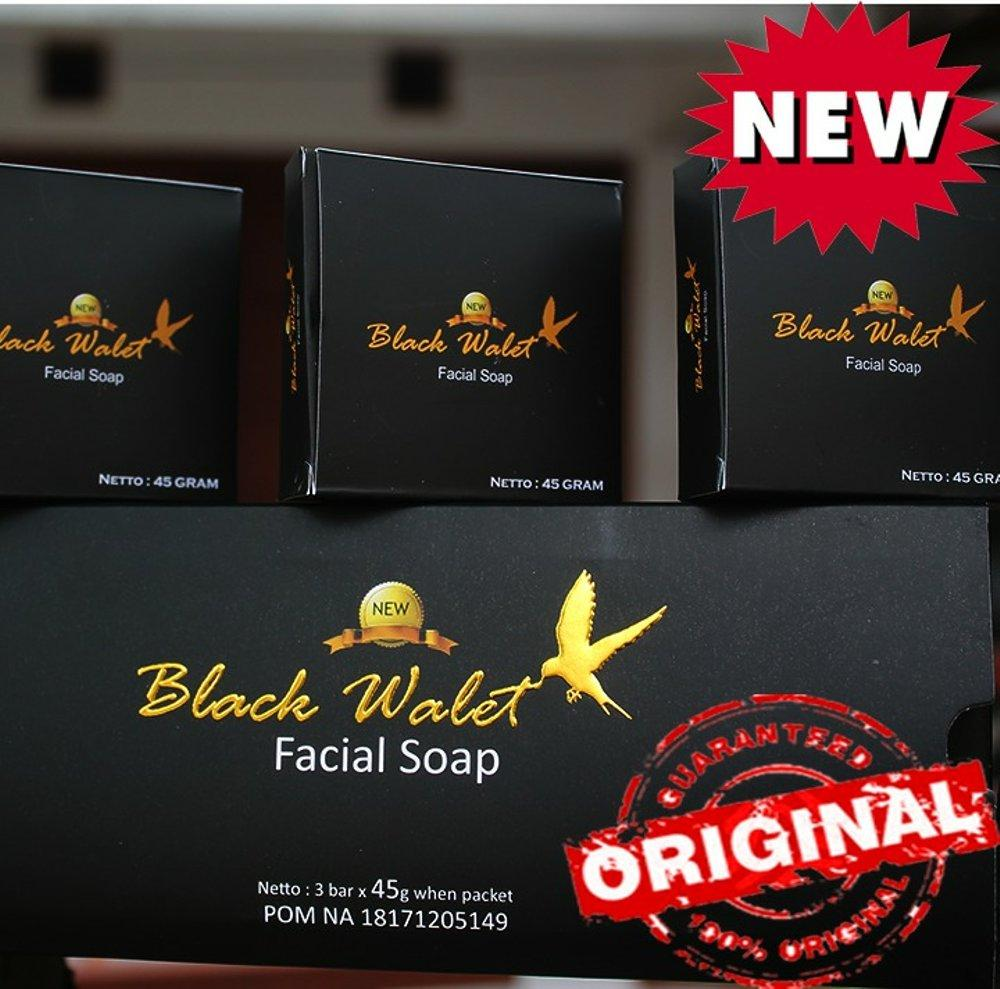 ... Sabun New Black Walet Asli isi 3 pcs