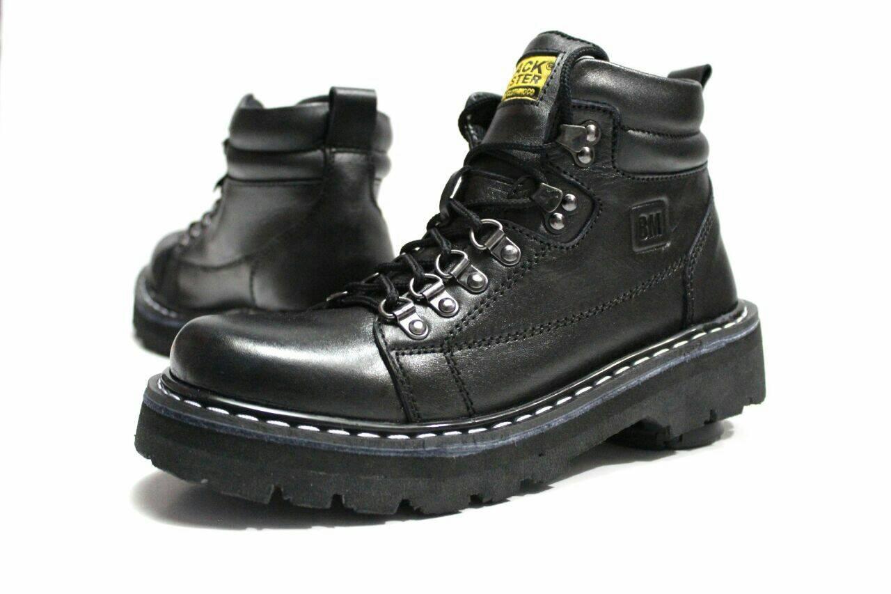 Sepatu Pria Original Boots Kulit Asli 39-43 Model Tali d795db9bae