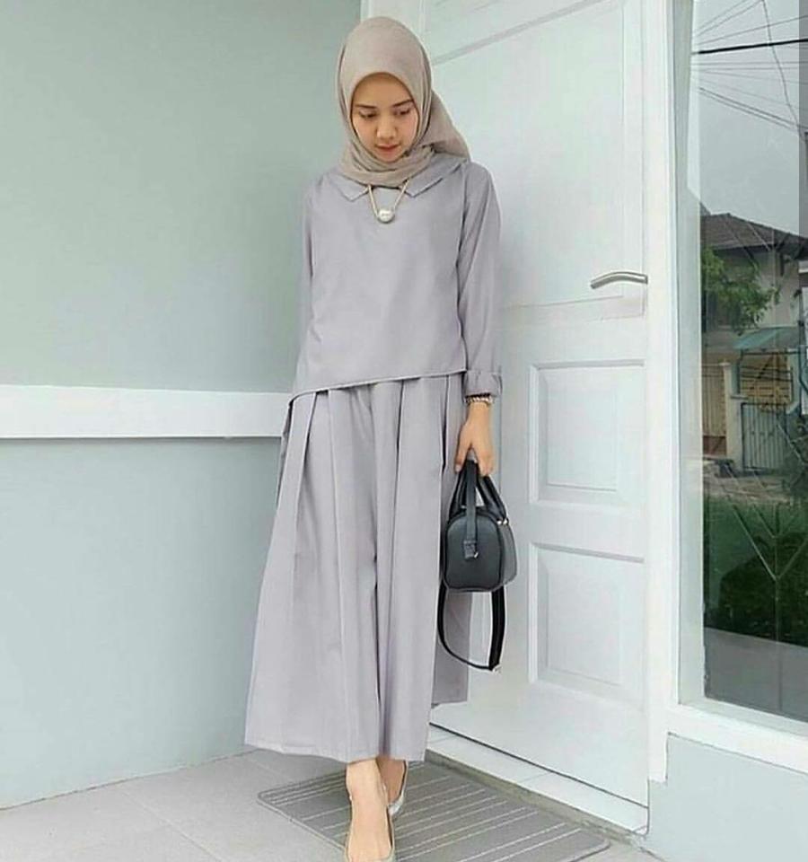 Bawahan Dress Muslim Fashion Exclusive Daftar Harga Bawahan Source · Dress Zaitun Maxi Busana Muslim Wanita MC220 Zaitun Maxi Grey Maxi Dress