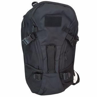 Silver Knight Bag Tas Ransel Army Outdoor 026 Hitam