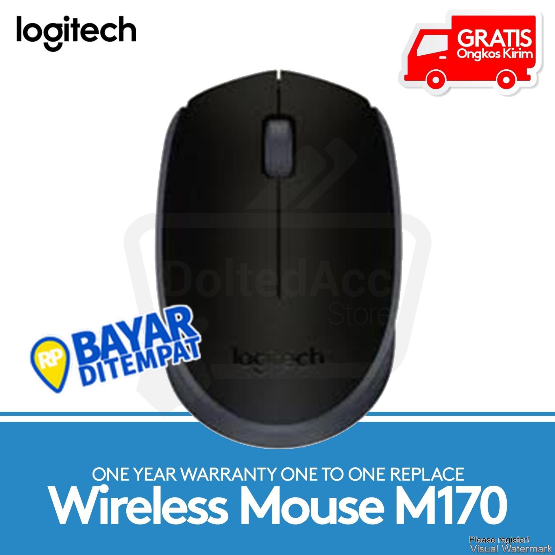 Logitech M170 Wireless Mouse Gratis Mousepad Bantal Daftar Harga