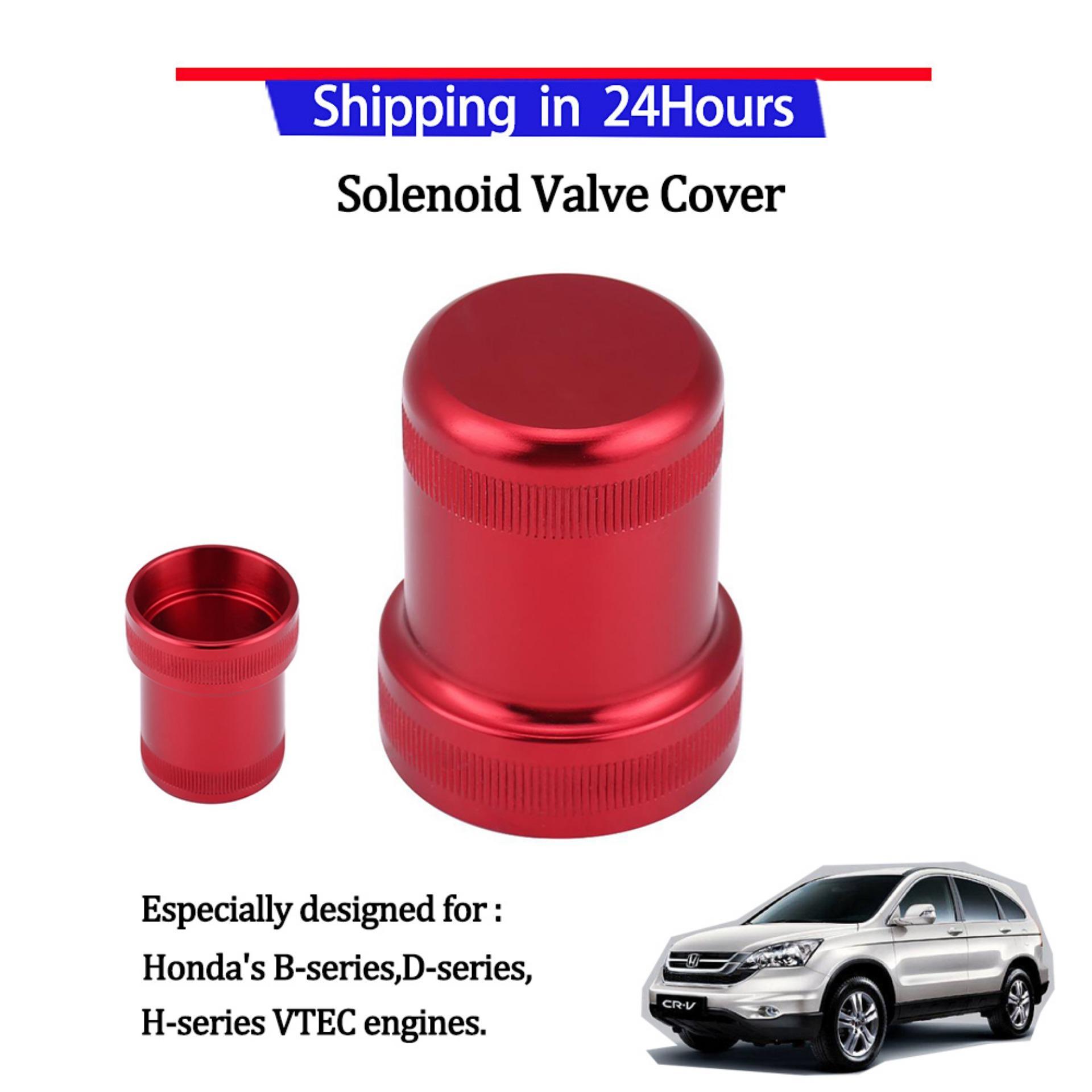 New Aluminum Solenoid Cover For Honda/'s B-series D-series H-series VTEC BLUE