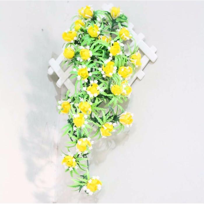 Promo Bunga Rambat Juntai Artificial - Tanaman Plastik Hias Dekorasi Shabby  - ZD6fvK Murah 267e5b5e45