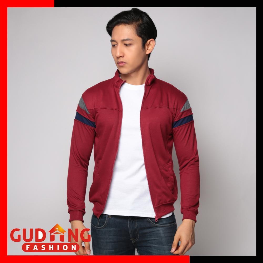 Gudang Fashion - Jaket Training Sporty Pria .