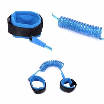 Tali tuntun pengaman untuk anak balita - Biru